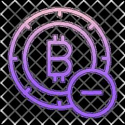 Remove Bitcoin Gradient Icon