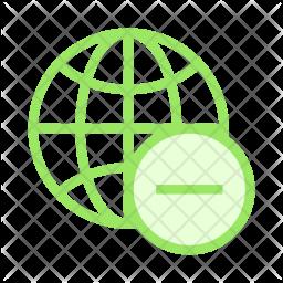 Remove Browser Colored Outline Icon
