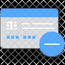 Remove Card Icon