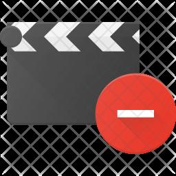Remove Clapper Flat Icon