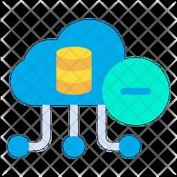Remove Cloud Data Icon