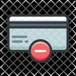 Remove Creditcard Icon