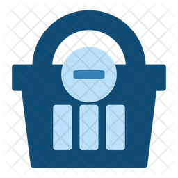 Remove From Basket Flat Icon