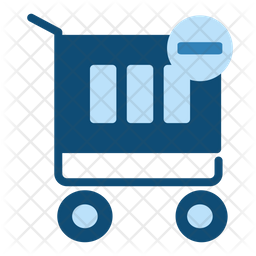 Remove From Cart Flat Icon