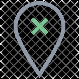 Remove Location Icon