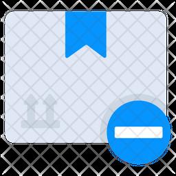 Remove Parcel Flat Icon