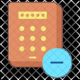 Remove Passcode Pin Icon