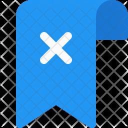 Remove Tag Flat Icon