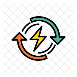 Renewable Energy Icon Of Colored Outline Style Available In Svg Png Eps Ai Icon Fonts