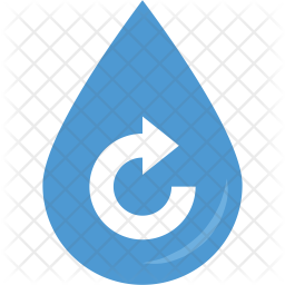 Renewable Water Resources Flat Icon