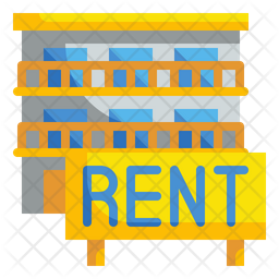 Rent House Flat Icon