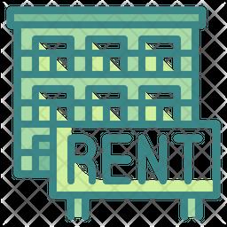 Rent House Icon