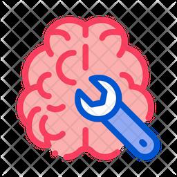 Repair Brain Icon
