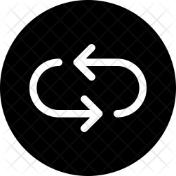 Replay Glyph Icon
