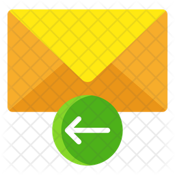 Reply Email Flat Icon