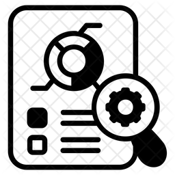 Report Customization Glyph Icon