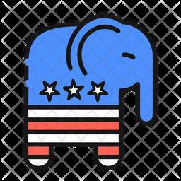 Republicans Party Symbol Icon