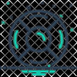 Rescue-Disk Icon