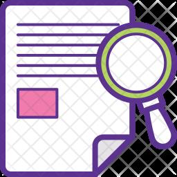 Research Process Icon