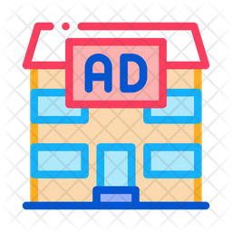 Residential Advertisement Icon