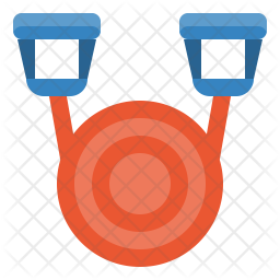 Resistance bands Icon