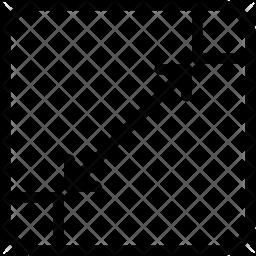 Resize Line Icon