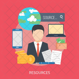 Resources Icon png