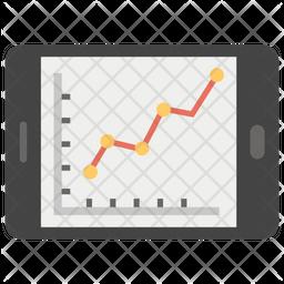 Responsive Graph Icon