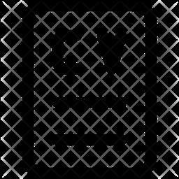 Resume Glyph Icon