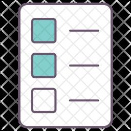 Resume, List, Checklist, Detail, Note, Paper, Biodata, Profile, Office Icon