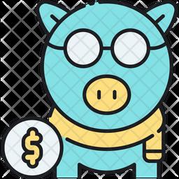 Retirement Savings Icon