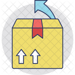 Return to Sender Colored Outline Icon