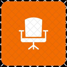 Revolving chair Glyph Icon