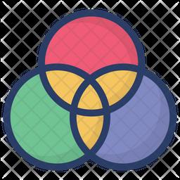 Rgb Combination Icon