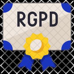 RGPD Certification Icon