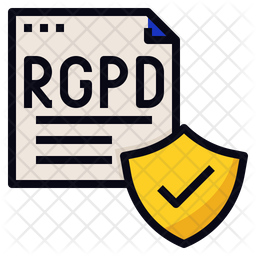RGPD Data Protection Icon