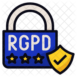 RGPD Data Security Icon