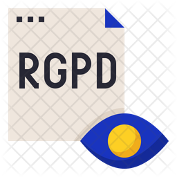 RGPD Transparency Icon