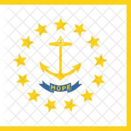 Rhode Flag Icon
