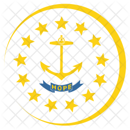 Rhode Flag Icon