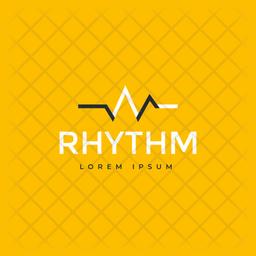 Rhythm Logo Colored Outline Icon