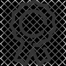 Ribbon Line Icon