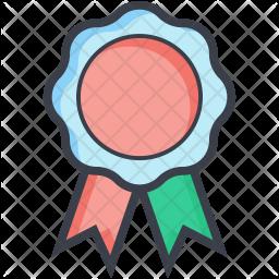 Ribbon Badge Icon