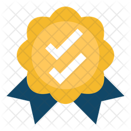 Ribbon Badge Icon