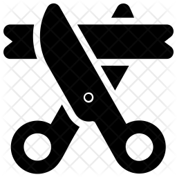 Ribbon Cutting Icon