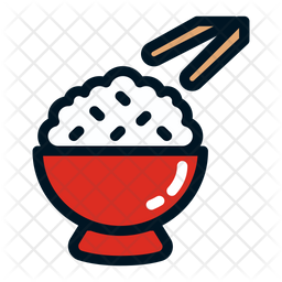 Rice Icon Of Colored Outline Style Available In Svg Png Eps Ai Icon Fonts