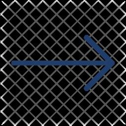 Right Arrow Logo Icon