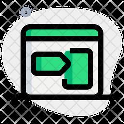 Right Bookmark Icon