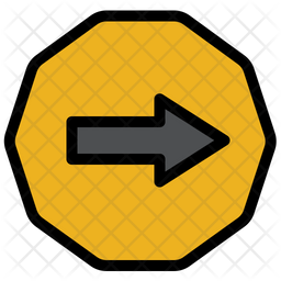 Right Sign Icon