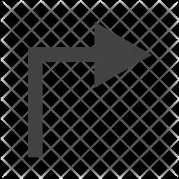 Right turn Icon